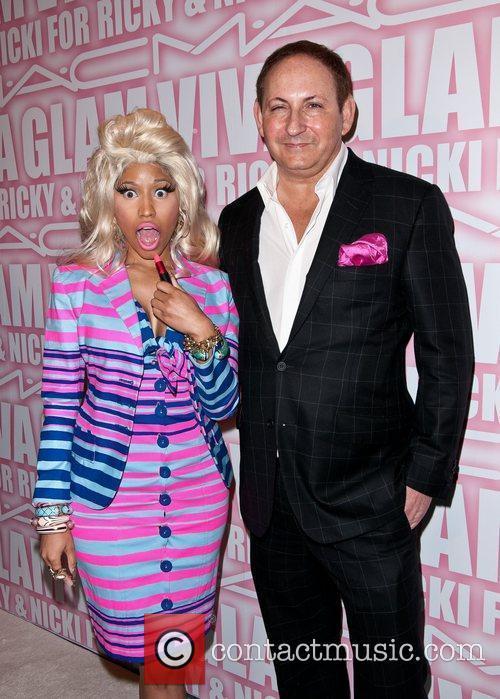 Nicki Minaj, John Demsey and Viva Glam Party 2