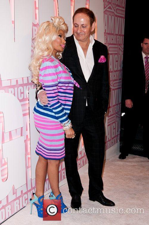 Nicki Minaj, John Demsey and Viva Glam Party 4