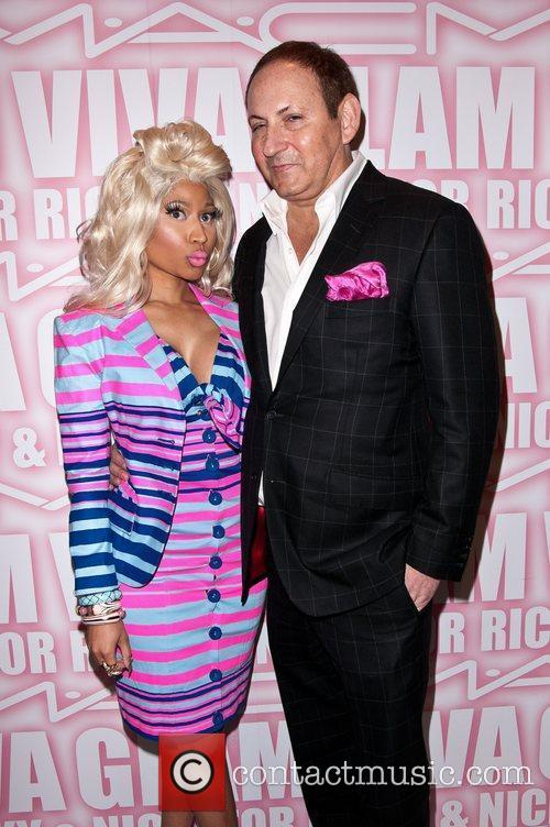 Nicki Minaj, John Demsey and Viva Glam Party 5