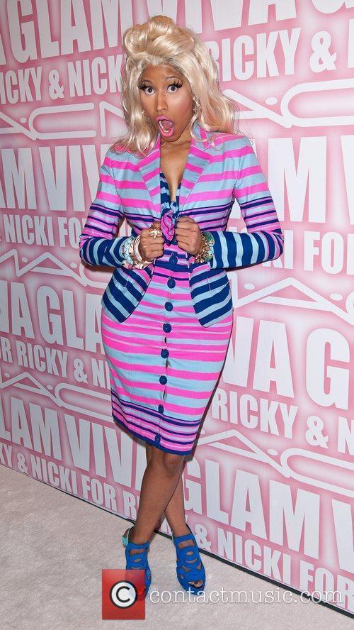 Nicki Minaj and Viva Glam Party 7