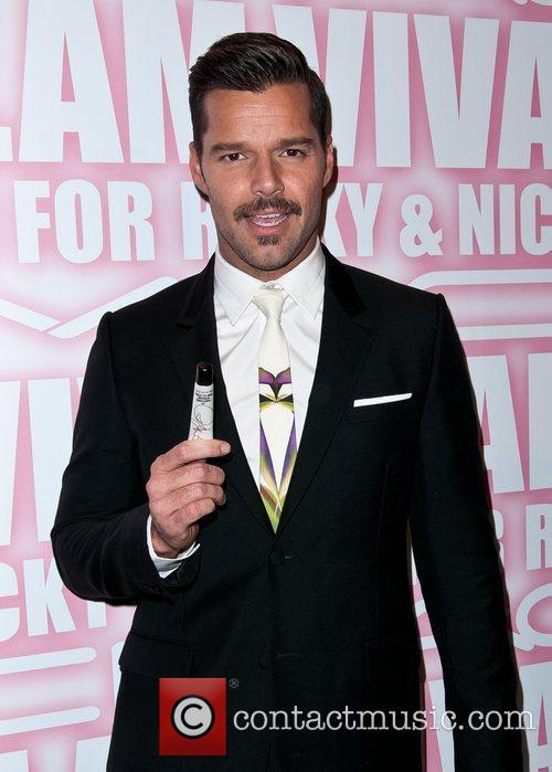 Ricky Martin and Viva Glam Party 2