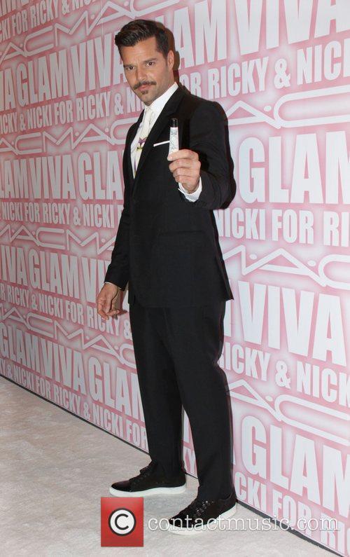 Ricky Martin and Viva Glam Party 10