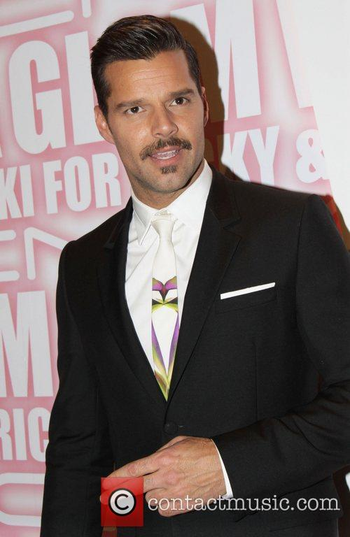 Ricky Martin and Viva Glam Party 11