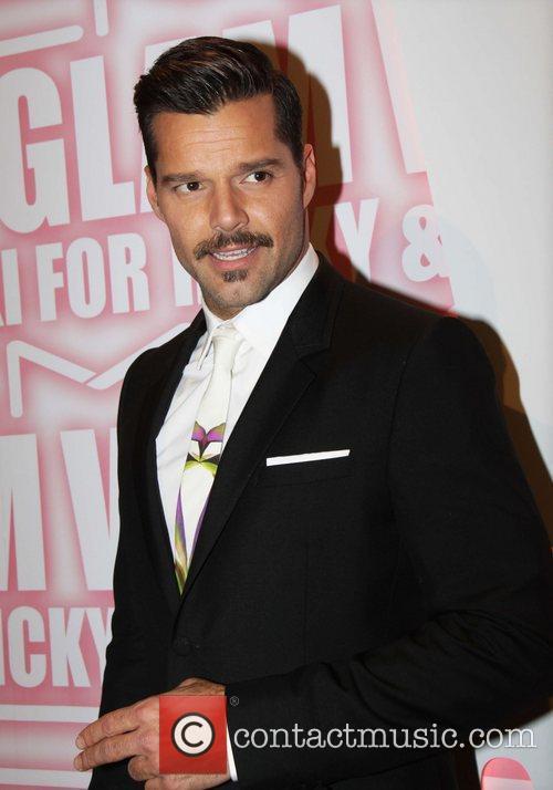 Ricky Martin and Viva Glam Party 7