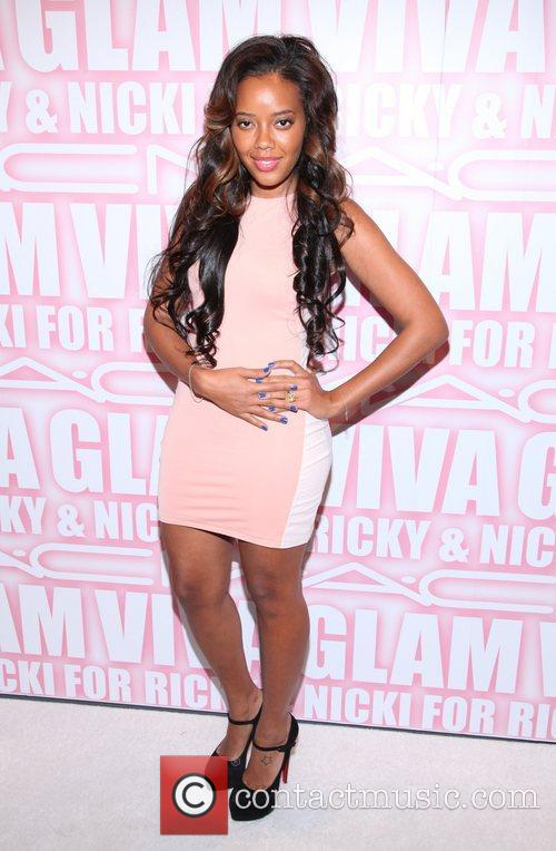 Angela Simmons and Viva Glam Party 1