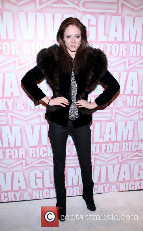 Coco Rocha the MAC Cosmetics Viva Glam Party...