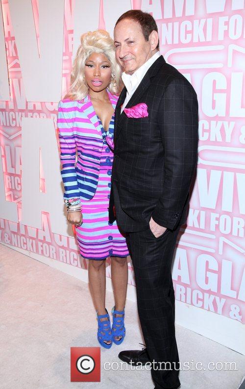 Nicki Minaj, John Demsey and Viva Glam Party 10