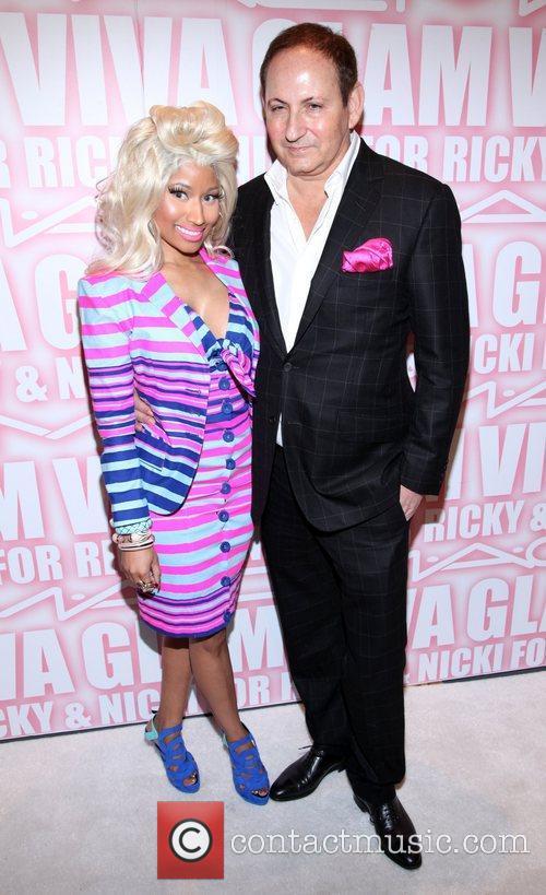 Nicki Minaj, John Demsey and Viva Glam Party 11