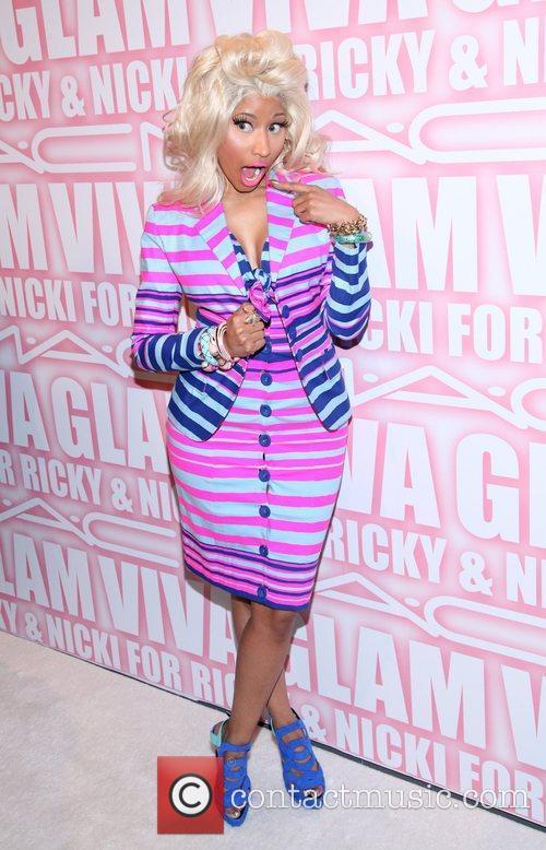 Nicki Minaj the MAC Cosmetics Viva Glam Party...