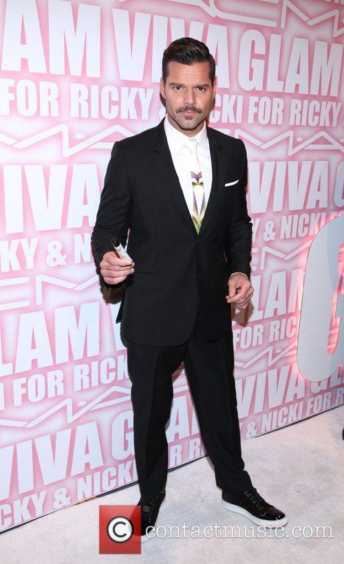 Ricky Martin the MAC Cosmetics Viva Glam Party...