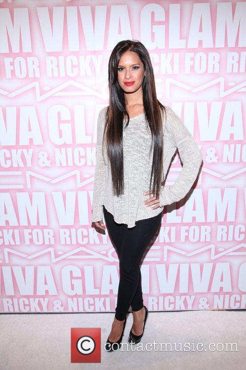 Roxy Diaz the MAC Cosmetics Viva Glam Party...