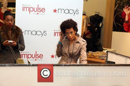 Solange Knowles and Macy's 3