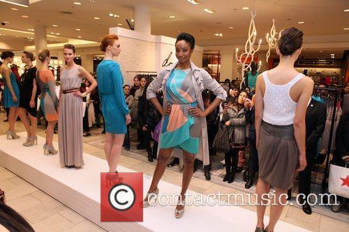 Model and Macy's 2
