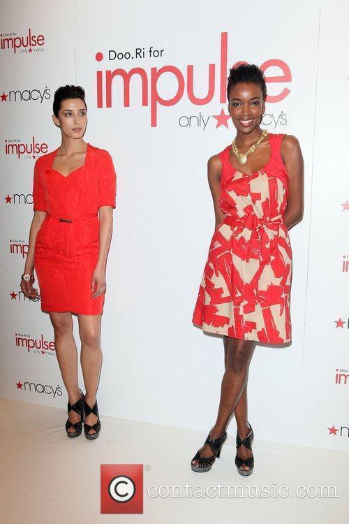 Models Macy's Celebrates Fifth Designer Collaboration With Designer...