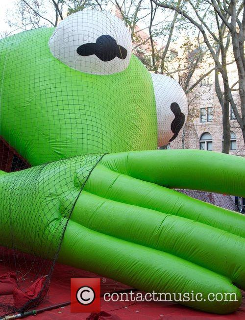 Thanksgiving Day Pre Parade, Macy's Inflation Ceremony, Upper West Side and Manhattan 12