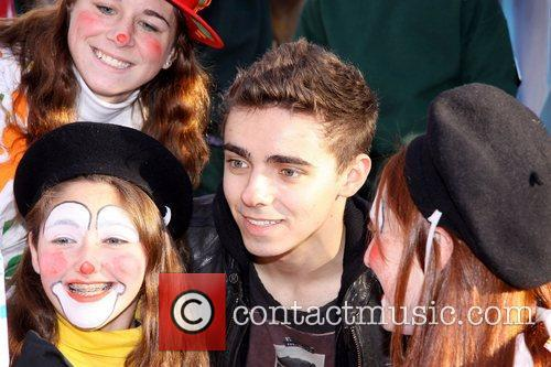 Nathan Sykes, The Wanted, Annual Macy's Thanksgiving Day and Parade New York City 8