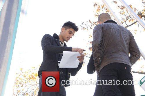 Siva Kaneswaran, Max George, The Wanted, Annual Macy's Thanksgiving Day and Parade New York City 5
