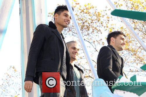 Siva Kaneswaran, Max George, Tom Parker, The Wanted, Annual Macy's Thanksgiving Day and Parade New York City 8
