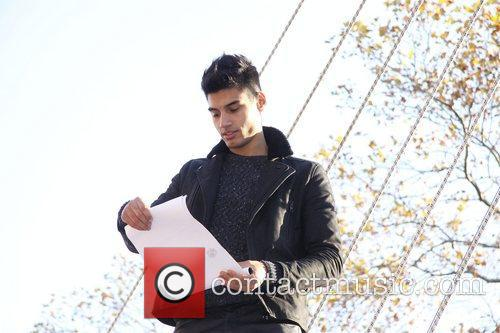 Siva Kaneswaran, The Wanted, Annual Macy's Thanksgiving Day and Parade New York City 1