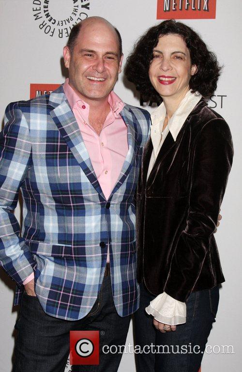 Matthew Weiner and Linda Brettler 'Mad Men' event...
