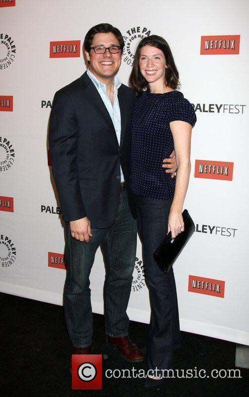 Rich Sommer and Guest 'Mad Men' event at...