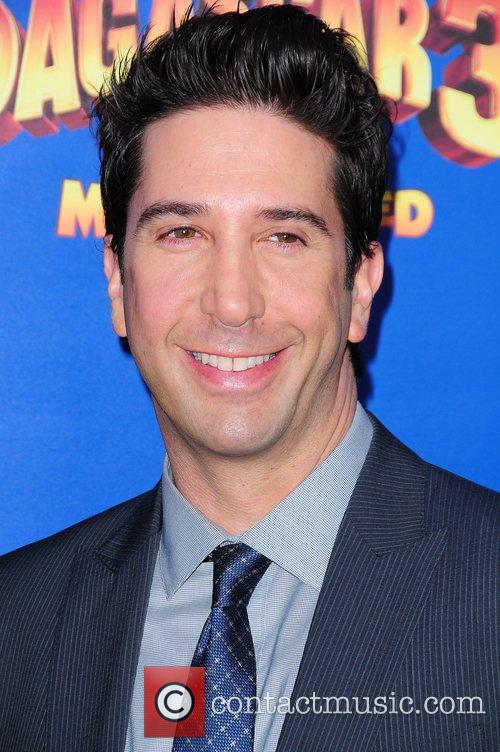 David Schwimmer,  New York Premiere of Dreamworks...