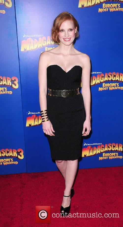 Jessica Chastain New York Premiere of Dreamworks Animation's...