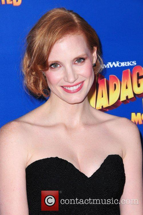 jessica chastain new york premiere of dreamworks animations 3932373