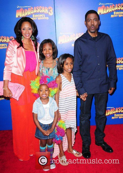 Malaak Compton-Rock, Chris Rock and family, ,...