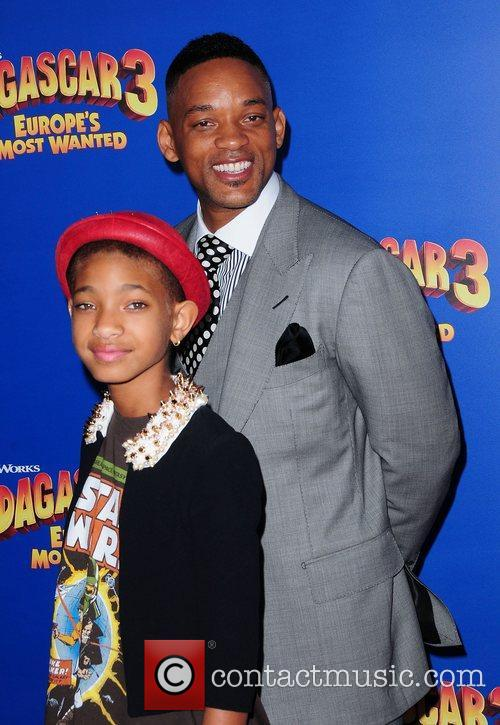 Willow Smith and Will Smith,  New York...