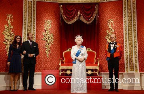 Kate Middleton, Prince Philip, Prince William and Queen Elizabeth Ii 3