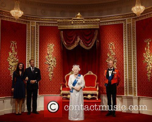 Kate Middleton, Prince Philip, Prince William and Queen Elizabeth Ii 4