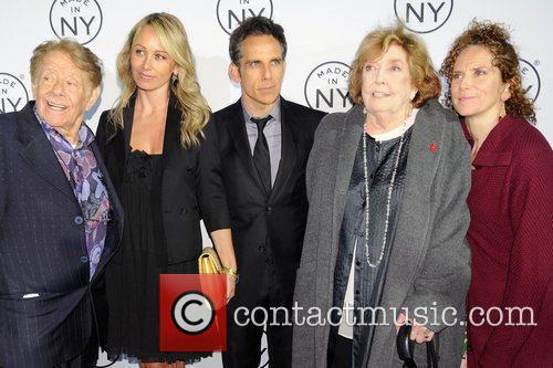Jerry Stiller, Anne Meara, Ben Stiller and Christine Taylor 3
