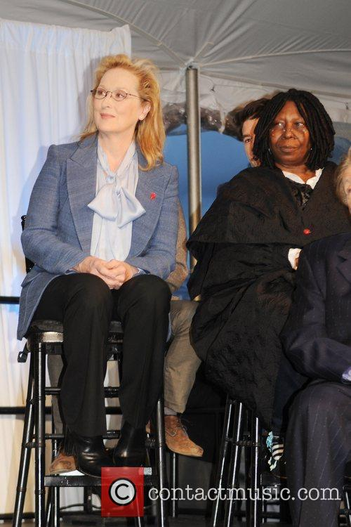 Meryl Streep and Whoopi Goldberg 9