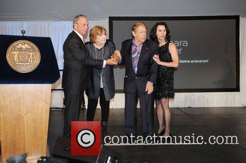 Mayor Michael Bloomberg, Anne Meara and Jerry Stiller 1