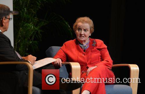 Former Secretary of State Madeleine Albright attends a...