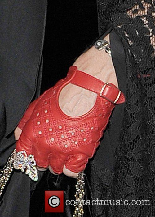 Madonna leaving the Arts Club in Mayfair