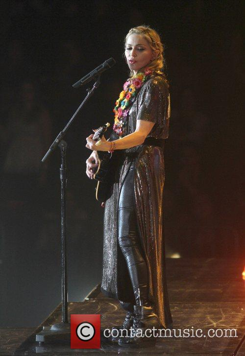 Madonna at Madison Square Garden