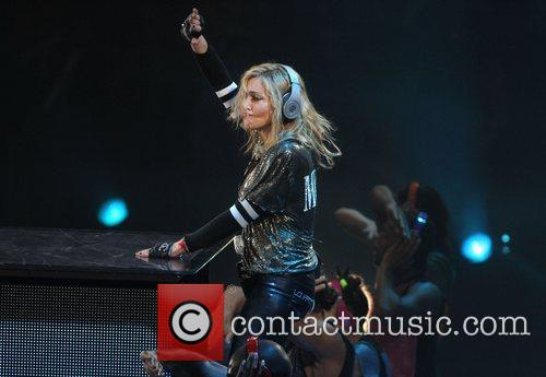 madonna performing at madison square garden new 4174665
