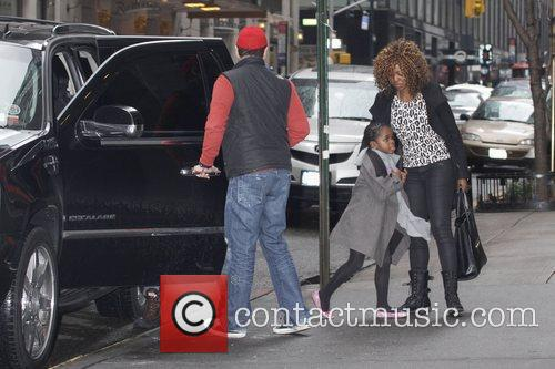 Mercy Banda Madonna and her family are seen...