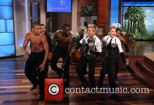 Talk, Ellen Degeneres and Madonna 2