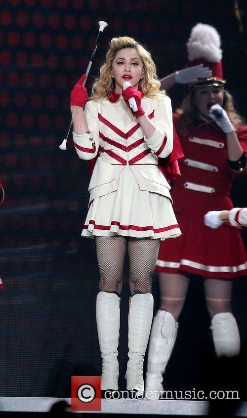 madonna performing at grand garden arena at 4125176