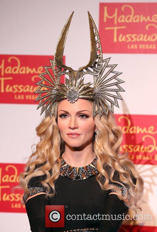 Madame Tussauds Las Vegas unveils a wax figure...