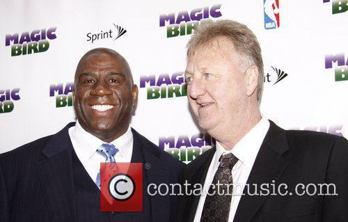 Magic Johnson and Larry Bird 2