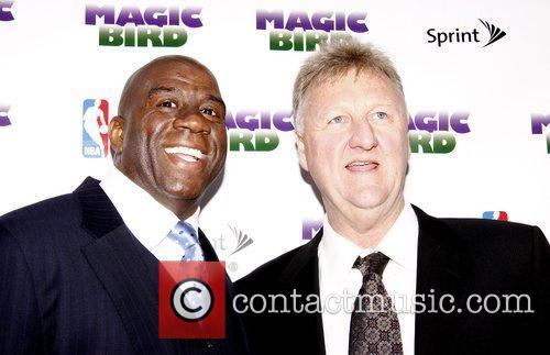 Magic Johnson and Larry Bird 3
