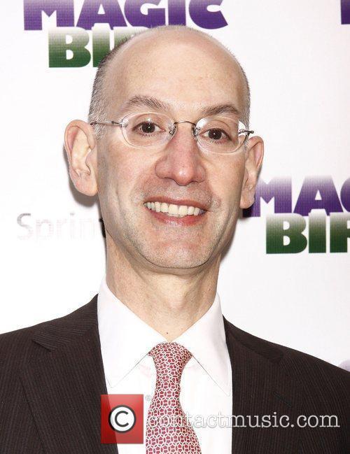 Adam Silver  Broadway opening night of 'Magic/Bird'...