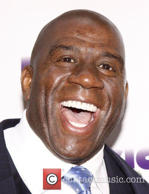 Earvin Magic Johnson  Broadway opening night of...
