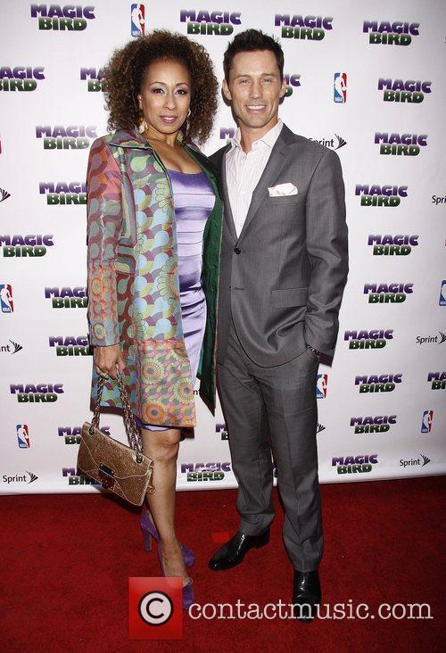 Tamara Tunie and Jeffrey Donovan 1