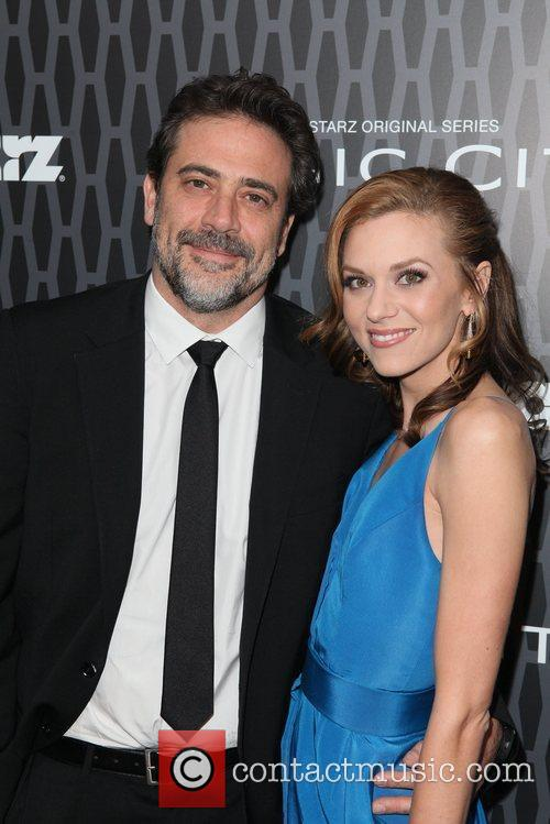 Jeffrey Dean Morgan and Hilarie Burton 2
