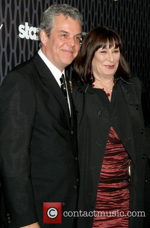 Danny Huston and Anjelica Huston 7